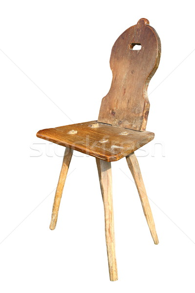 ancient hand made chair Stock photo © taviphoto