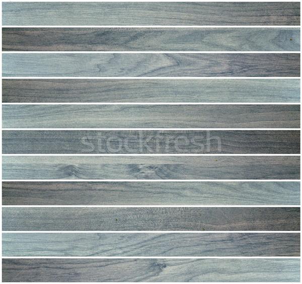 blue parquet design Stock photo © taviphoto