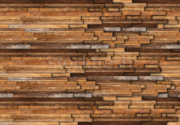 Abstract patroon muur mahonie hout Stockfoto © taviphoto