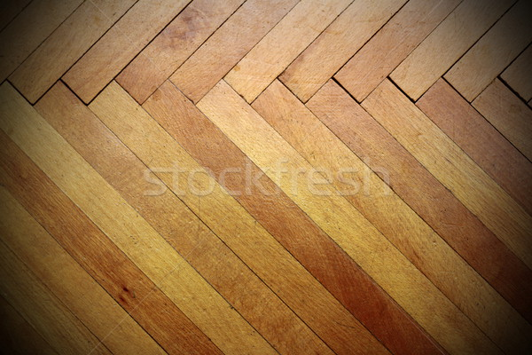 old real parquet Stock photo © taviphoto