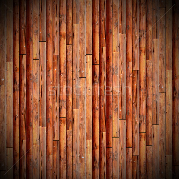 vertical mounted weathered wooden floor Stock photo © taviphoto