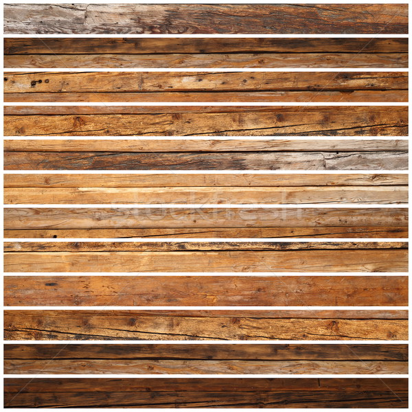design of parquet from old wood Stock photo © taviphoto