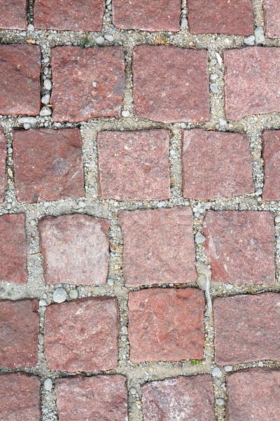 старые каменные тротуар город строительство стены Сток-фото © taviphoto
