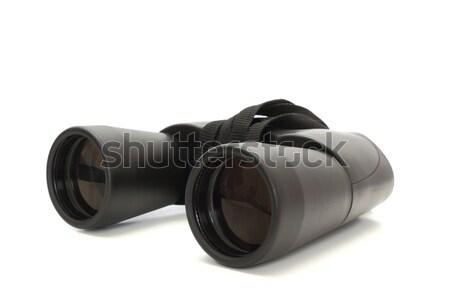 Jumelles perspectives ombre blanche regarder recherche Photo stock © taviphoto