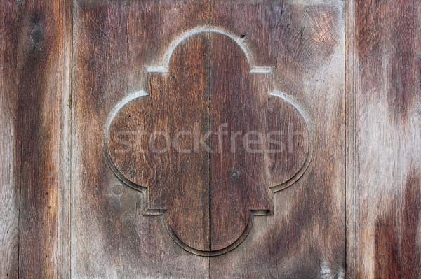 Foto stock: Pormenor · velho · porta · textura · edifício