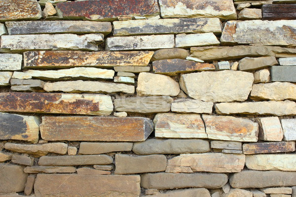 stone wall for your design Stock photo © taviphoto