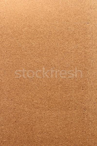Vertical textura placa de cortiça fundo escritório quadro de avisos Foto stock © taviphoto