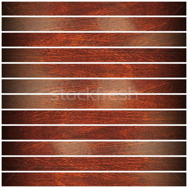 cherry wood parquet design Stock photo © taviphoto