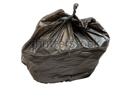 big black isolated garbage bag Stock photo © taviphoto