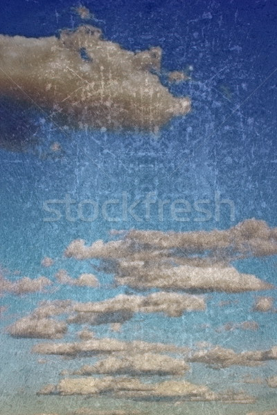 clouds on grungy background Stock photo © taviphoto