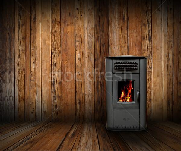 cozy interior backdrop Stock photo © taviphoto