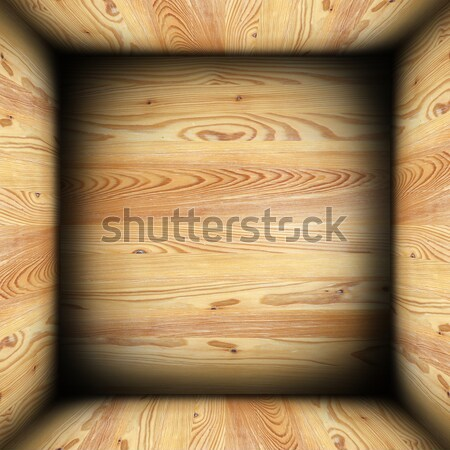 abstract plywood finished interior background Stock photo © taviphoto