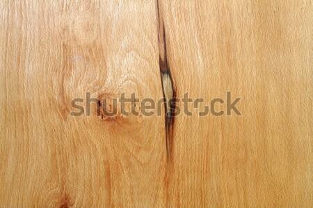 oak veneer with knot Stock photo © taviphoto