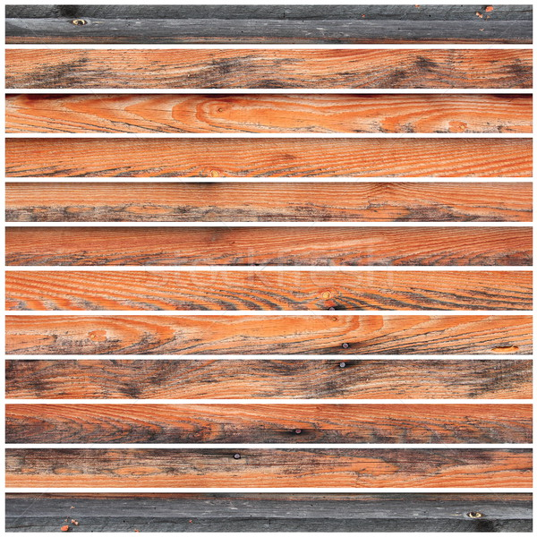 faded grungy wooden planks Stock photo © taviphoto