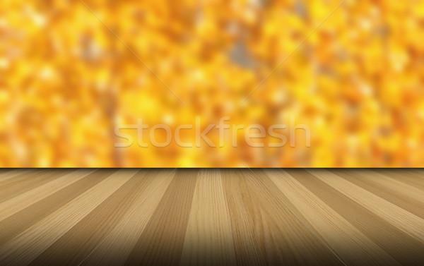 wooden veranda Stock photo © taviphoto