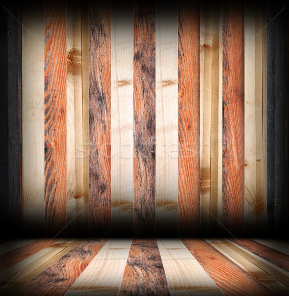 striped wooden boards finishing Stock photo © taviphoto