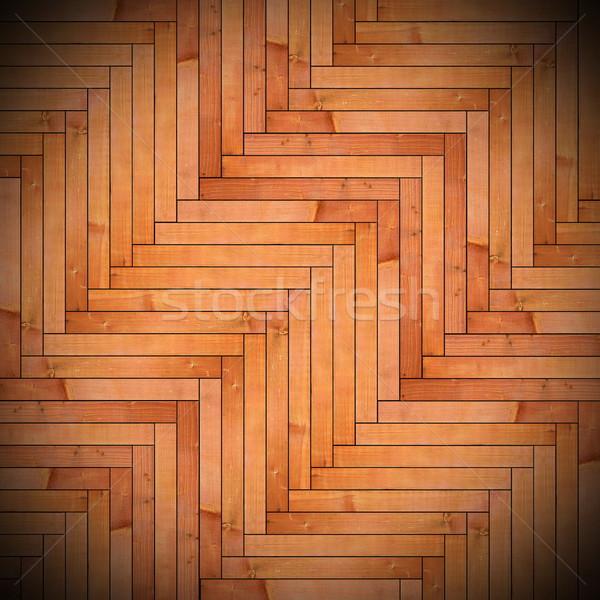 wood tiles on floor texture Stock photo © taviphoto