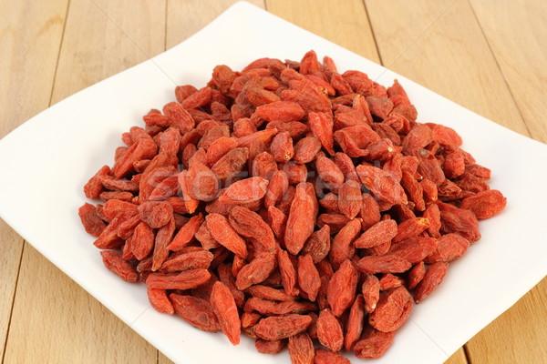 bunch of goji berries Stock photo © taviphoto