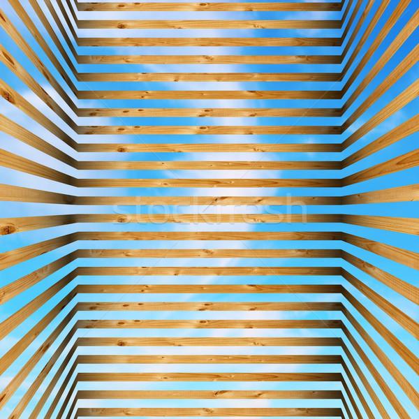 木製 ケージ 空 表示 木材 ストックフォト © taviphoto