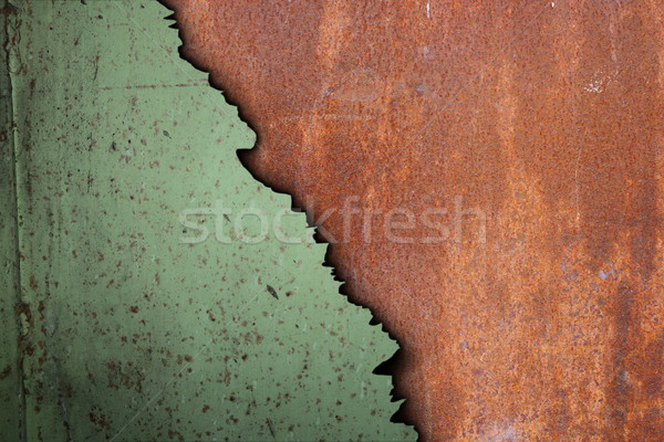 rusty surface of corroded metal Stock photo © taviphoto