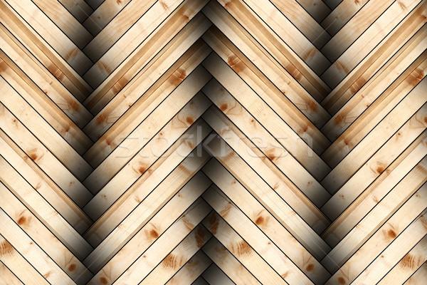 Nuevos ataviar piso fondo textura madera Foto stock © taviphoto