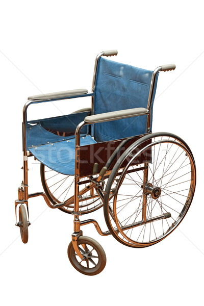 old wheel chair Stock photo © taviphoto
