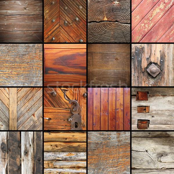 Foto stock: Detalles · arquitectónico · elementos · colección · madera