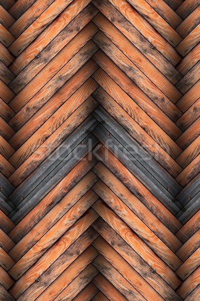 tiled wooden floor Stock photo © taviphoto