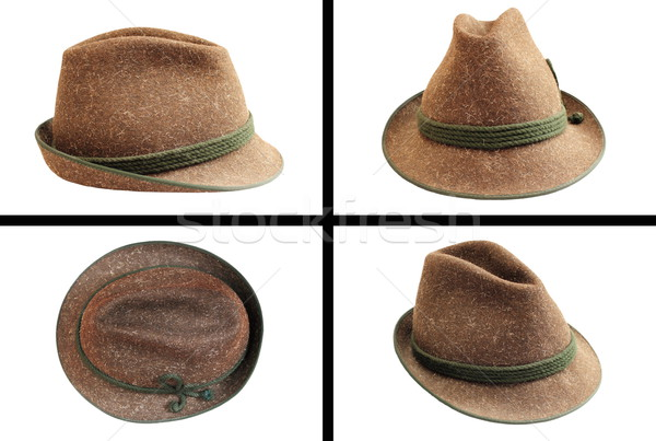 traditional wool hunting hat Stock photo © taviphoto