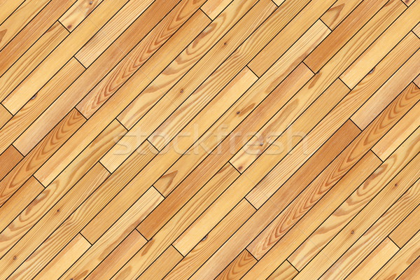 beige parquet installed at an angle Stock photo © taviphoto