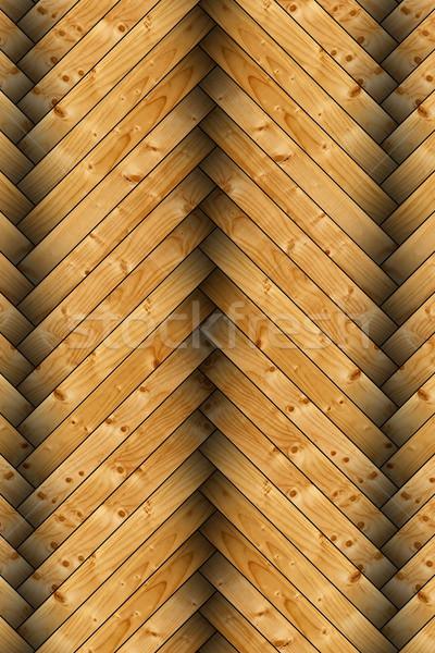 Primo piano abete rosso piano piastrelle texture legno Foto d'archivio © taviphoto