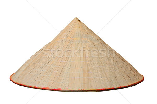 chinese conical isolated hat Stock photo © taviphoto