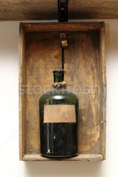 vintage decor with chemical bottle Stock photo © taviphoto