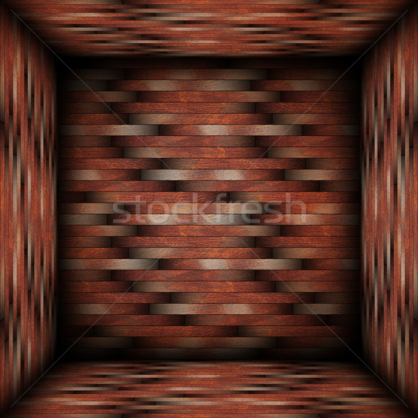 interesting backdrop with wood tiles Stock photo © taviphoto