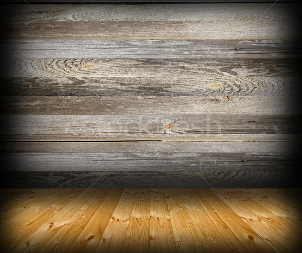 cabin interior abstract backdrop Stock photo © taviphoto