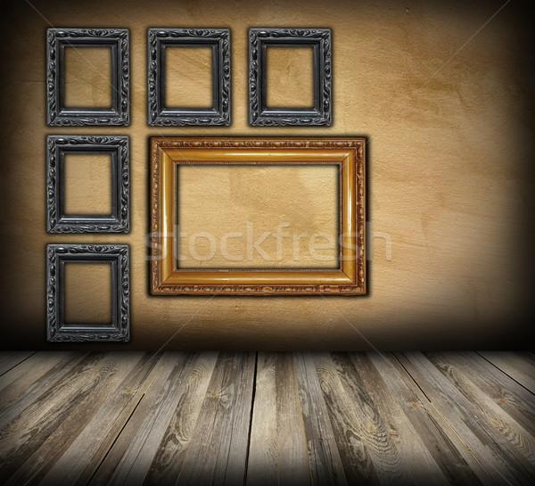 art indoor background Stock photo © taviphoto