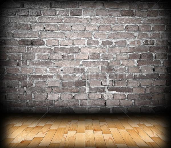 cracked wall backdrop Stock photo © taviphoto