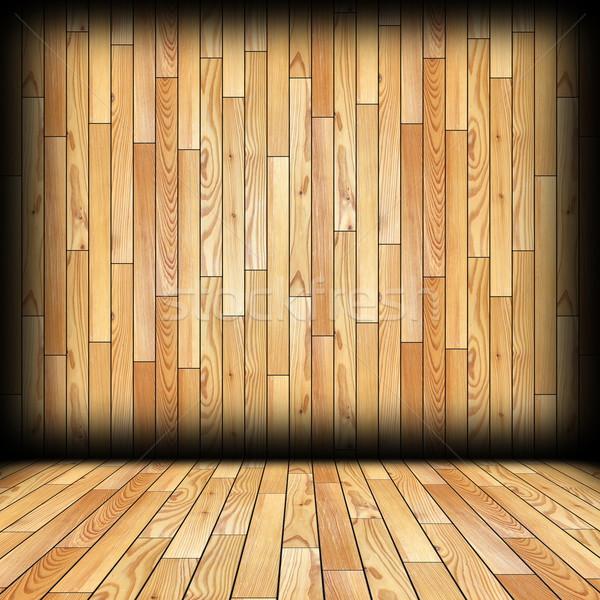 spruce planks interior backdrop Stock photo © taviphoto