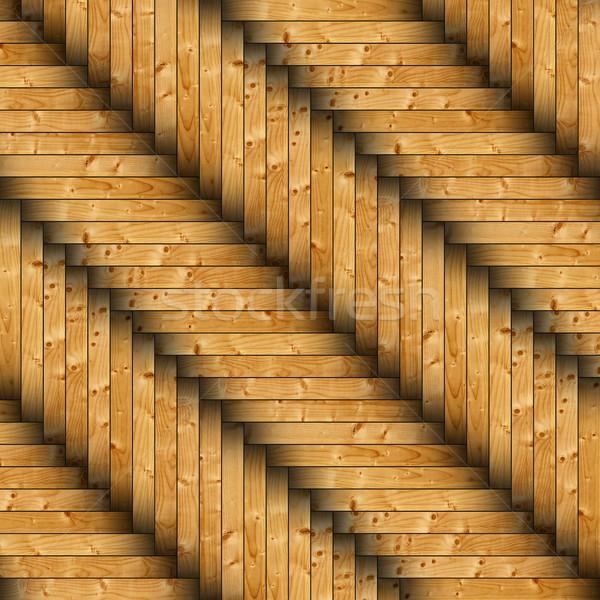 fir tiles parquet design Stock photo © taviphoto