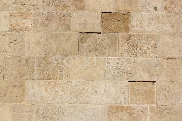 Vecchio pietra piastrelle texture esterno muro Foto d'archivio © taviphoto