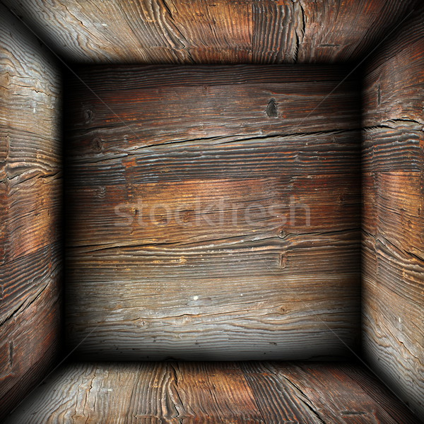 abstract rusty wood backdrop Stock photo © taviphoto