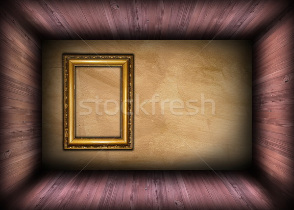 Minimalist mimari arka plan boş eski boyama Stok fotoğraf © taviphoto