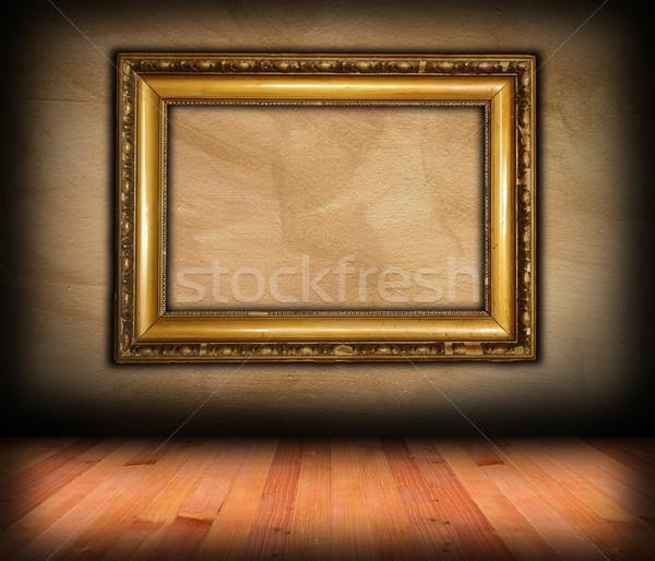 Vintage frame muro interni architettonico sfondo Foto d'archivio © taviphoto