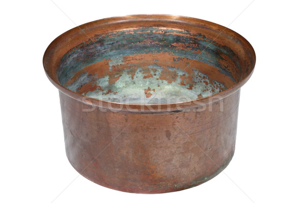 old copper container Stock photo © taviphoto