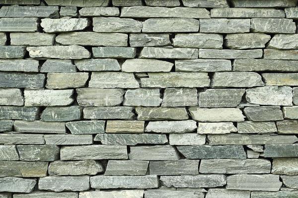 Eski taş duvar doku hazır ev inşaat Stok fotoğraf © taviphoto