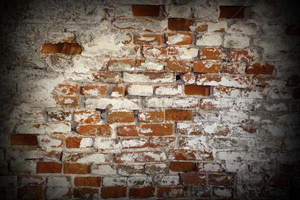 vintage brick wall Stock photo © taviphoto