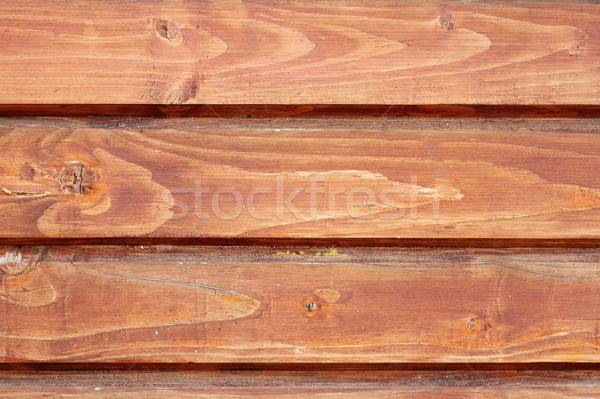 textured exterior of a lodge Stock photo © taviphoto