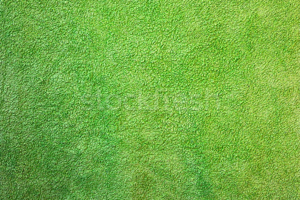 green texture of towel material Stock photo © taviphoto