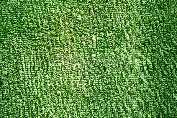 緑 テクスチャ タオル 素材 準備 ホーム ストックフォト © taviphoto