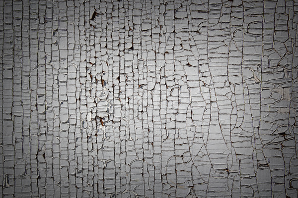 cracked paint on old wood plank Stock photo © taviphoto